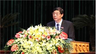 Phát biểu bế mạc kỳ họp thứ tư, HĐND tỉnh Bắc Giang khóa XVIII của đồng chí Bí thư Tỉnh ủy Bùi Văn Hải