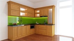 Tủ bếp cần hài hòa với thiết kế căn nhà của bạn