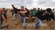 Hàng trăm người thương vong do đụng độ giữa người Palestine và quân đội Israel