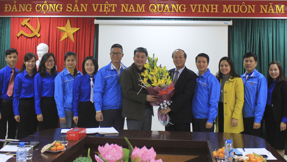 Gặp mặt Đoàn đại biểu tỉnh Bắc Giang dự Đại hội Đoàn TNCS Hồ Chí Minh lần thứ XI