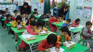 Xây dựng Trường Mầm non thị trấn Chũ thành trường trọng điểm chất lượng cao