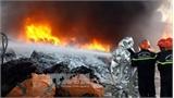 Cháy kèm nổ lớn gần đường điện cao thế, toàn TP Vũng Tàu mất điện