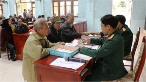 Chi trả chế độ cho 213 đối tượng tham gia dân công hỏa tuyến
