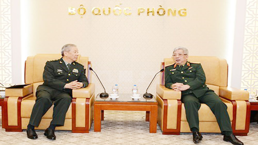 Defence official affirms boosting ties with China