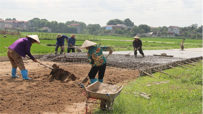 Bac Giang recognizes four more communes as new style rural areas
