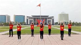 Hội đồng Đội tỉnh giới thiệu 7 video dân vũ
