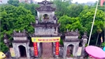 Bell pagoda in Hung Yen province