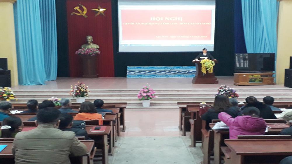 339 tổ trưởng tổ hòa giải cơ sở được tập huấn nghiệp vụ, phổ biến pháp luật