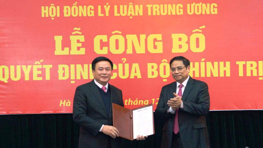Bộ Chính trị phân công đồng chí Nguyễn Xuân Thắng phụ trách Hội đồng Lý luận T.Ư
