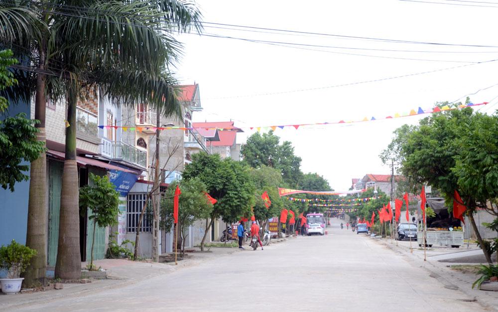 Một góc NTM Lãng Sơn hôm nay.