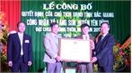 Xã Lãng Sơn đón nhận Quyết định đạt chuẩn nông thôn mới
