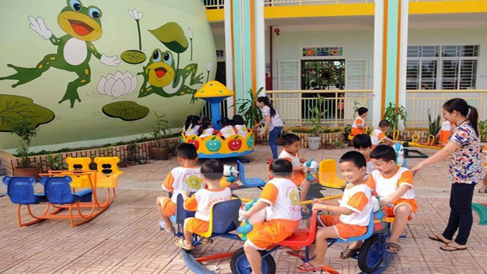 UNICEF-funded project support comprehensive child development