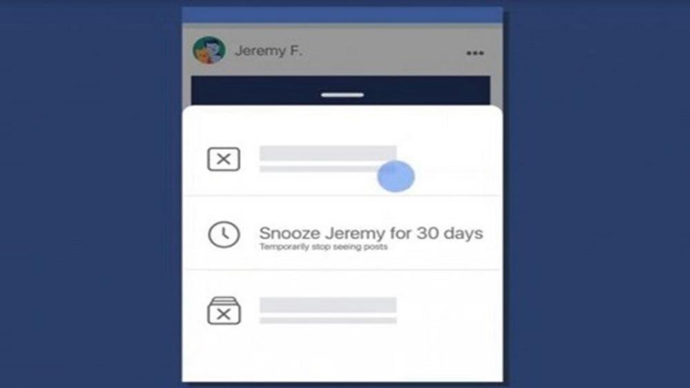 Facebook ra mắt tính năng Snooze để tạm ẩn bài đăng của bạn bè và fanpage