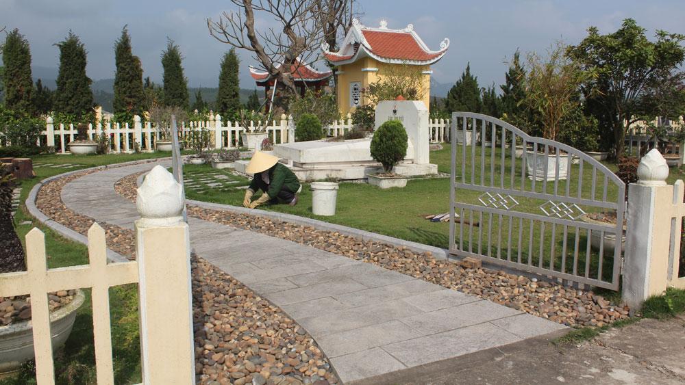 """Bất cập trong quản lý nghĩa trang nhân dân: Kỳ II - Không để cái khó """"bó"""" văn minh"""