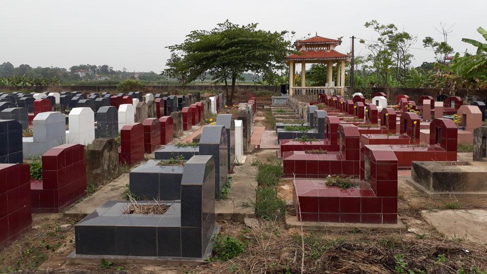 Bất cập trong quản lý nghĩa trang nhân dân, không để, cái khó bó văn minh
