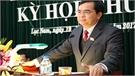 Khai mạc kỳ họp thứ năm, HĐND huyện Lục Nam khóa XIX