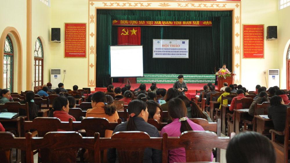 Hội thảo tuyên truyền về xử lý toàn diện chất thải trong chăn nuôi