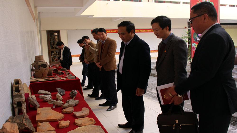 Phát hiện nhiều hiện vật khảo cổ học tại chùa Mã Yên (Lục Nam)