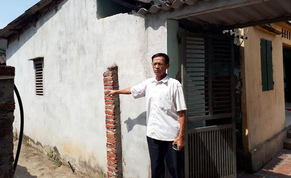 Kháng nghị giám đốc thẩm vụ án tranh chấp đất tại xã Hoàng Ninh