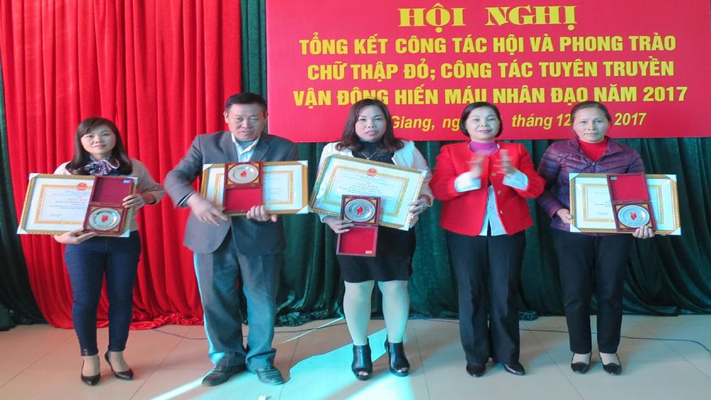 Hội CTĐ huyện Lạng Giang tổng kết công tác hội năm 2017