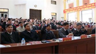 Bế mạc kỳ họp thứ năm, HĐND huyện Lục Nam khóa XIX: Thông qua 7 nghị quyết với 3 nhiệm vụ cấp bách