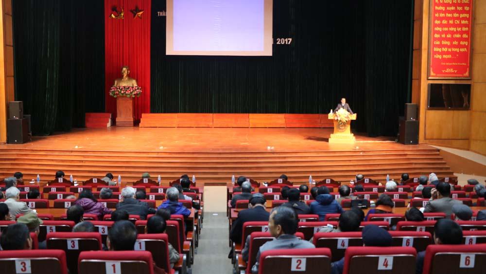 BTV Thành ủy Bắc Giang thông tin thời sự quý IV năm 2017