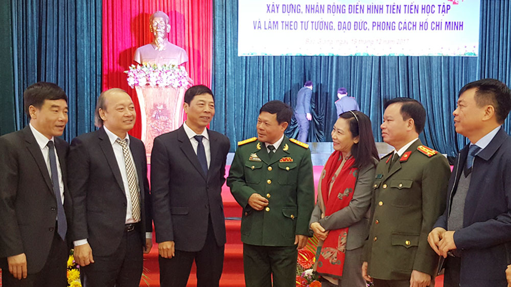 Bac Giang pushes movement of studying Ho Chi Minh's example