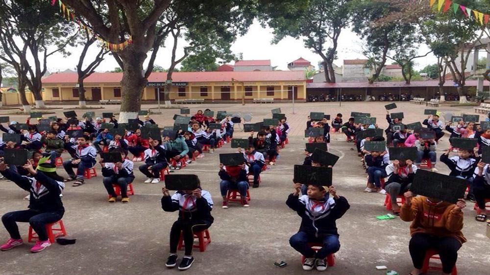Trường THCS Việt Lập tổ chức hội thi tìm hiểu Lịch sử Việt Nam