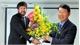Phó Chủ tịch UBND tỉnh Lê Ánh Dương thăm, chúc mừng Giáng sinh và năm mới Tổ chức UNESCO