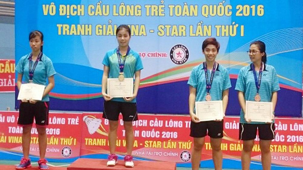 Trần Thị Phương Thúy: Người kế thừa xuất sắc thế hệ vàng của cầu lông Bắc Giang