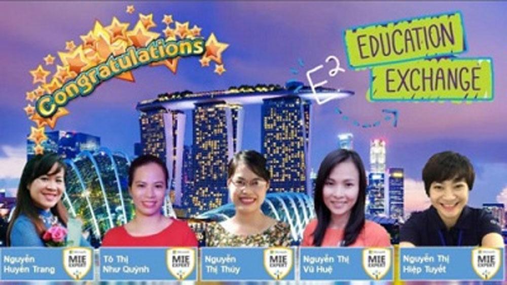 5 giáo viên Việt tham gia Diễn đàn Giáo dục toàn cầu 2018