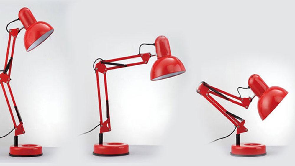 Sự khác nhau của đèn bàn nằm ở thiết kế