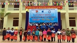 Hội Sinh viên Bắc Giang tại Hà Nội tổ chức chương trình Đông ấm