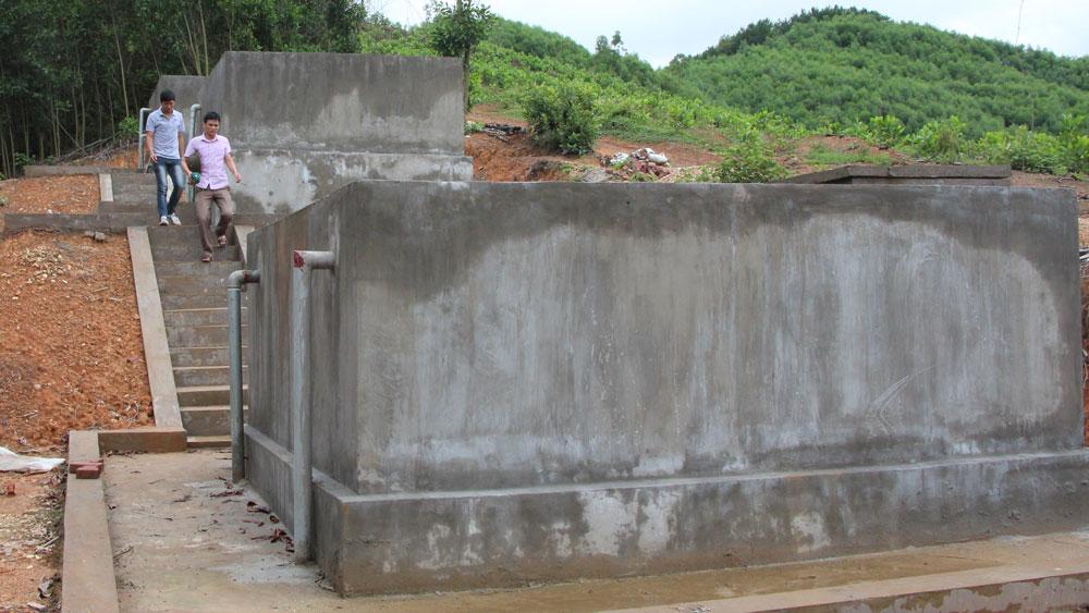 Công trình nước sạch thôn Khả, xã Vân Sơn (Sơn Động).
