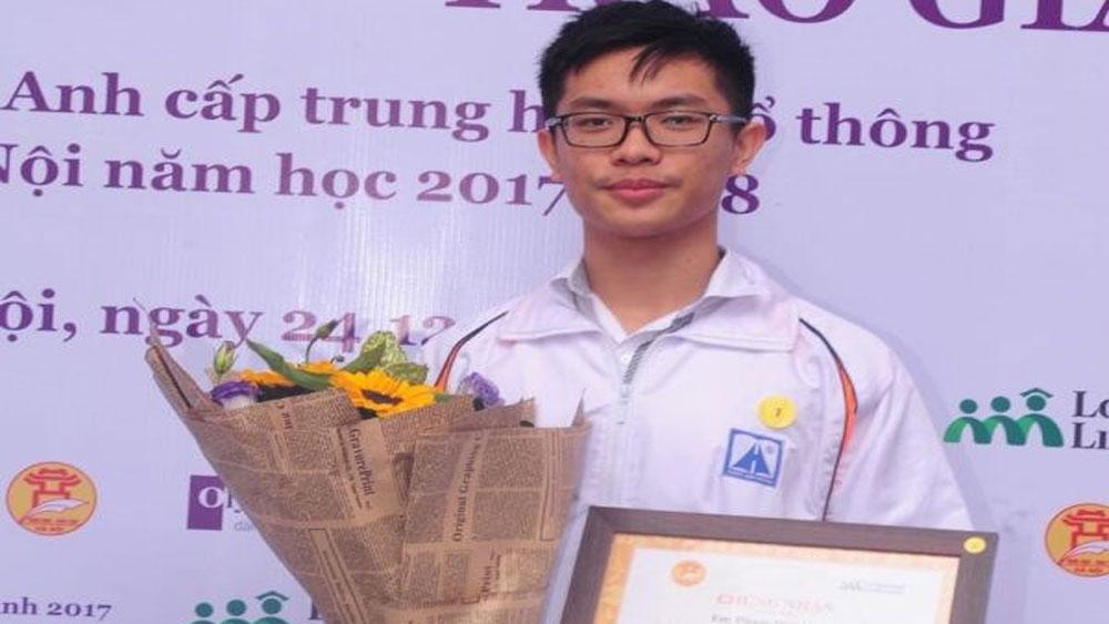Học sinh Hà Nội Amsterdam thắng áp đảo trong cuộc thi tiếng Anh
