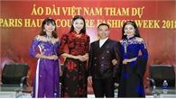 Áo dài Việt thăng hạng trên bản đồ thời trang