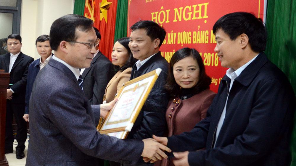 Đảng ủy Các cơ quan tỉnh triển khai nhiệm vụ công tác xây dựng Đảng năm 2018