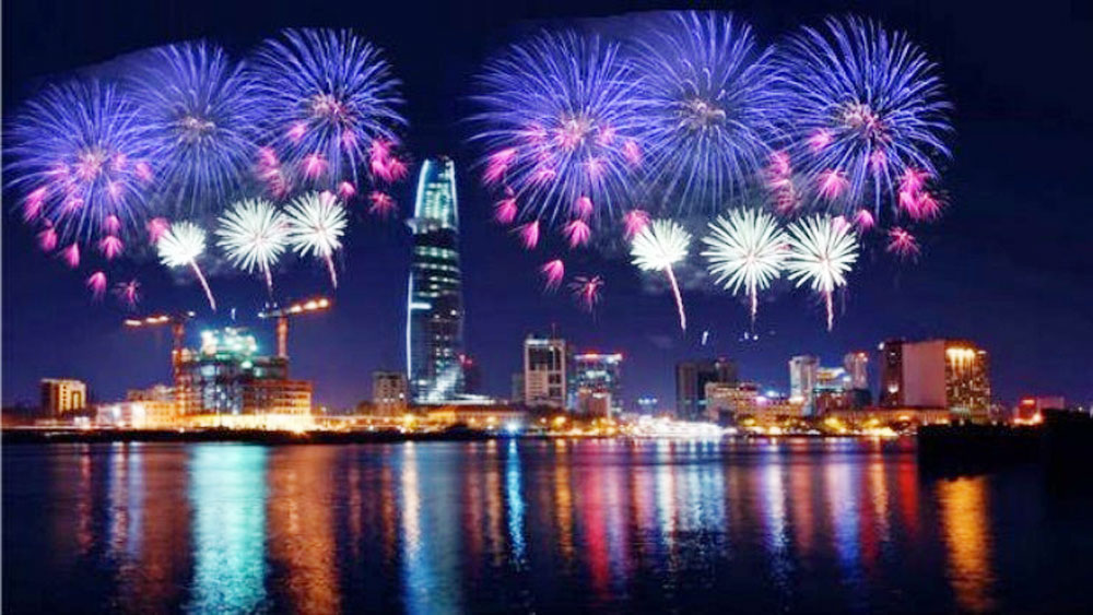 Localities, fireworks, Tet holiday, State budget, social welfare, local residents, national contributors, waste public funds, social order