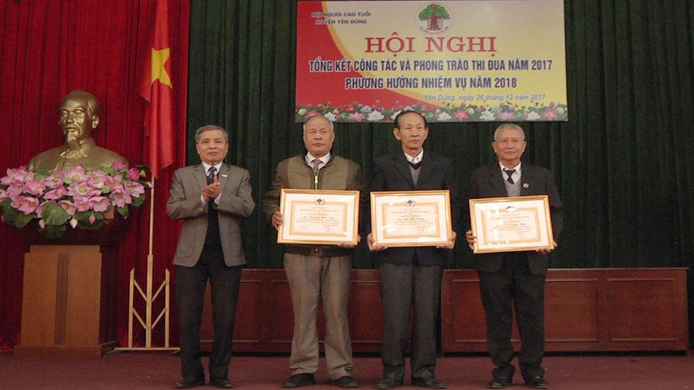 Yên Dũng: Hơn 99% người cao tuổi sinh hoạt trong tổ chức Hội