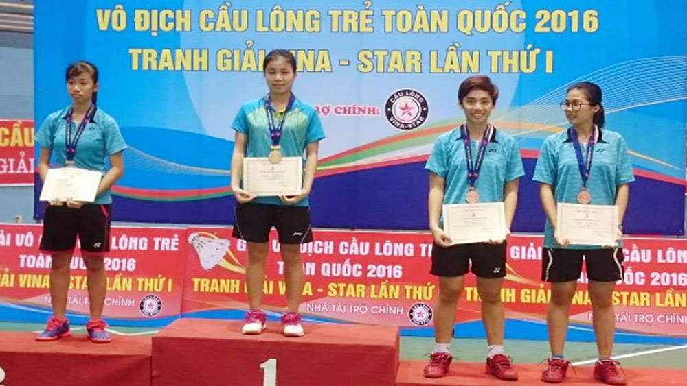 Tran Thi Phuong Thuy: Excellent heir of the gold generation of Bac Giang badminton