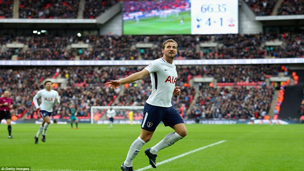 Harry Kane thiết lập hàng loạt kỷ lục mới tại Premier League