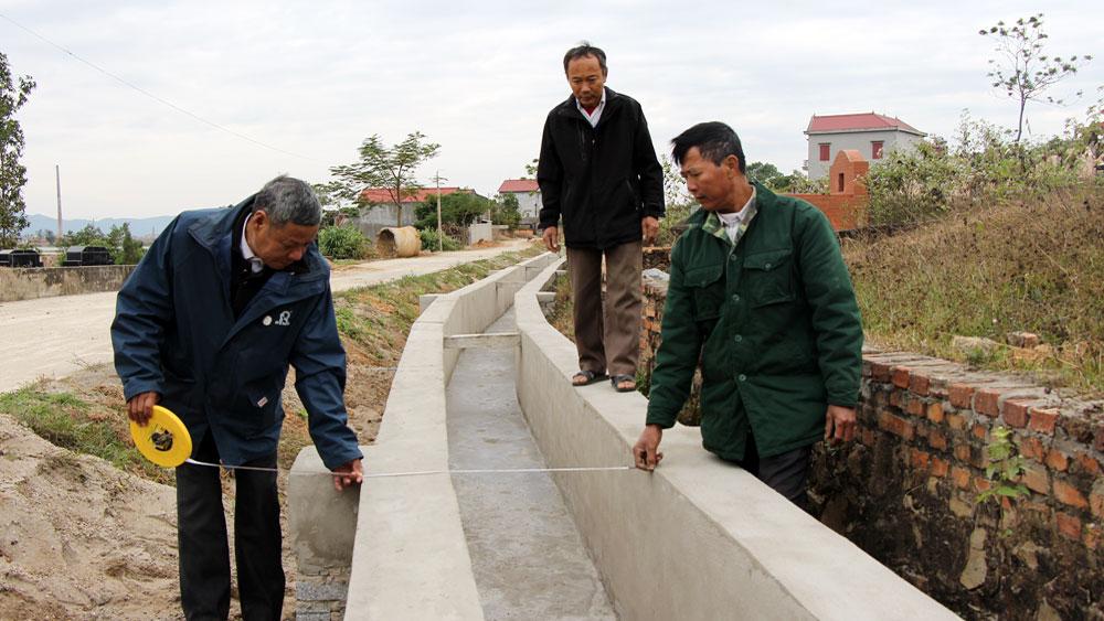 Chiến dịch thủy lợi gắn với xây dựng nông thôn mới