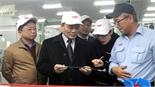 Phó Chủ tịch Thường trực UBND tỉnh Lại Thanh Sơn chúc Tết một số doanh nghiệp FDI