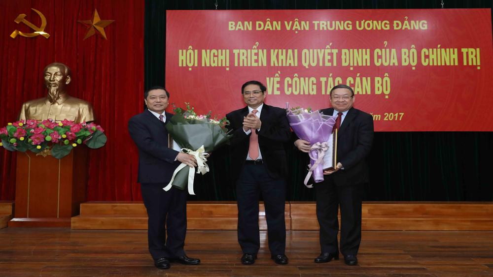 Ông Thào Xuân Sùng giữ chức Bí thư Đảng đoàn Trung ương Hội Nông dân Việt Nam