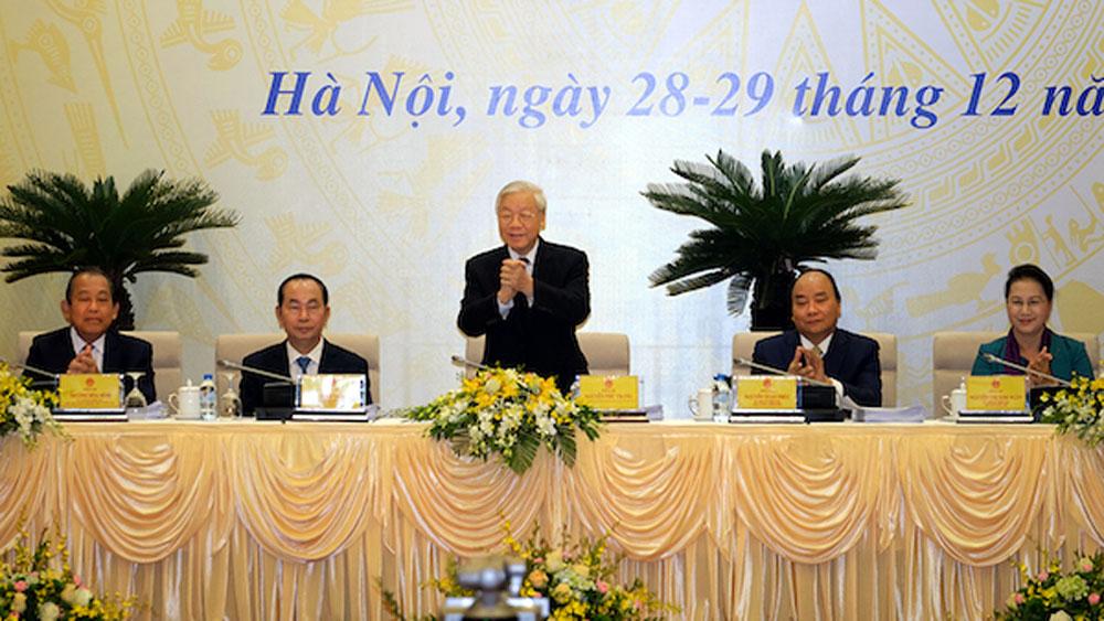 Hội nghị trực tuyến Chính phủ triển khai Nghị quyết của Quốc hội