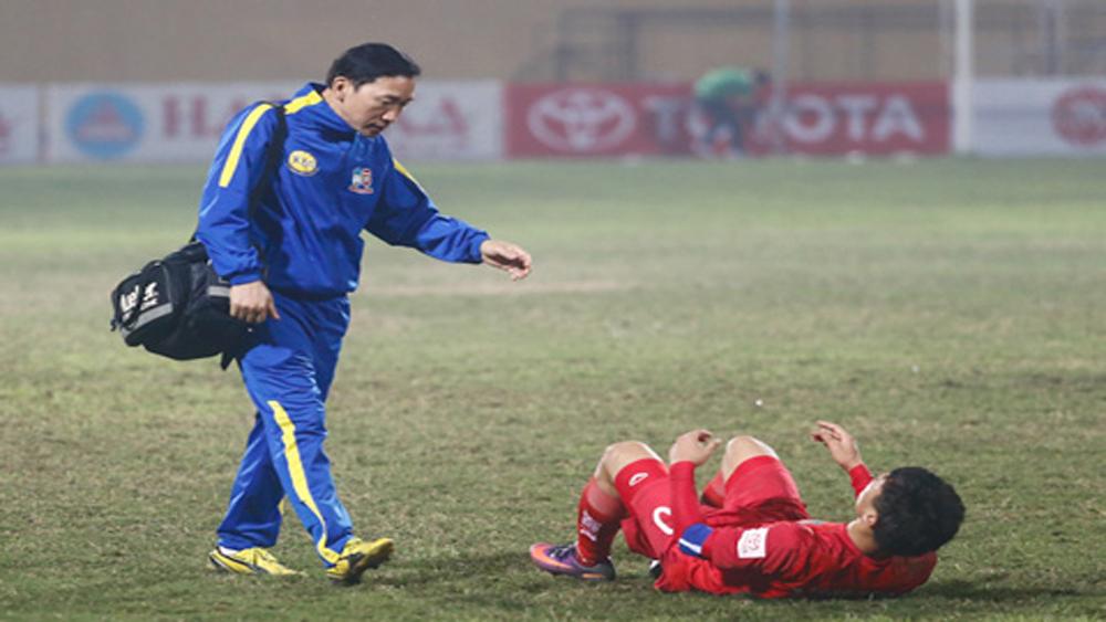 Chấn thương đe dọa U23 Việt Nam