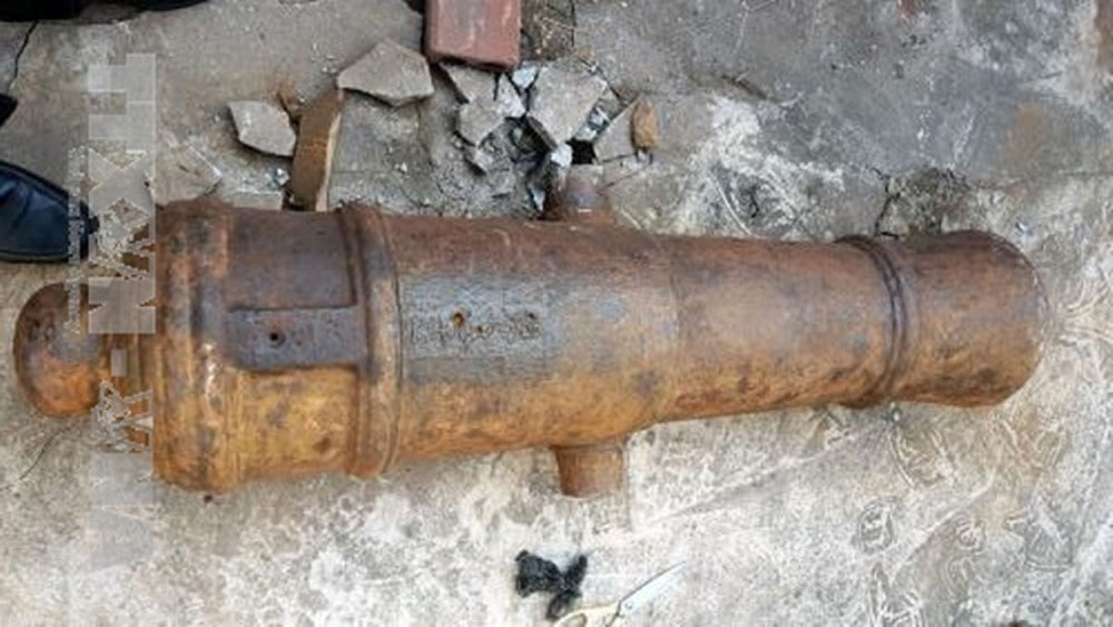 200-year-old canon discovered in Quang Ninh