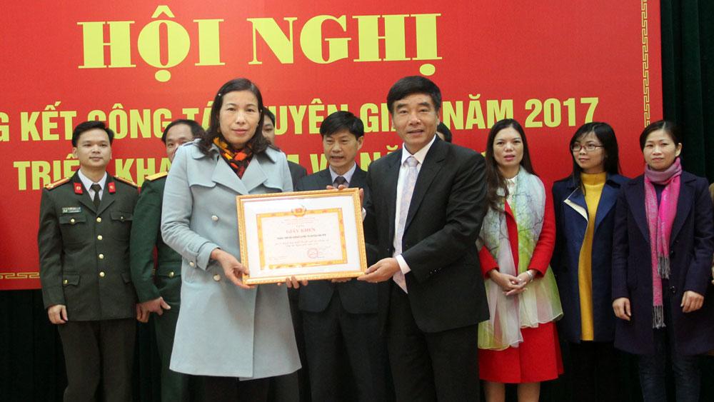 Ban Tuyên giáo Tỉnh ủy, Bắc Giang,  triển khai,  nhiệm vụ năm 2018