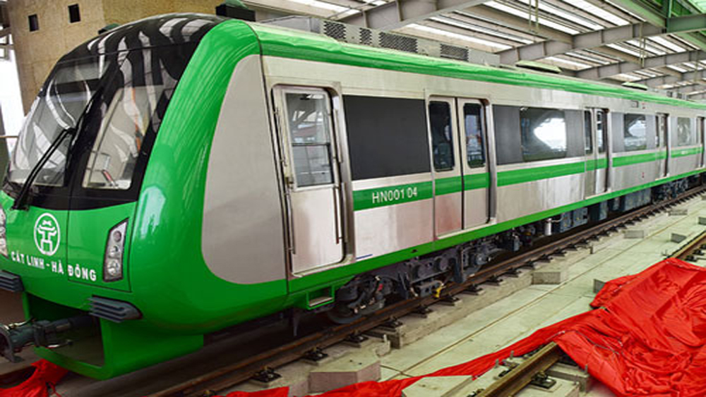 Đường sắt Cát Linh - Hà Đông khai thác thương mại từ cuối năm 2018