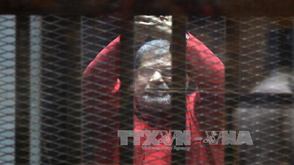 Tòa án Ai Cập tiếp tục kết án Tổng thống bị lật đổ M.Morsi